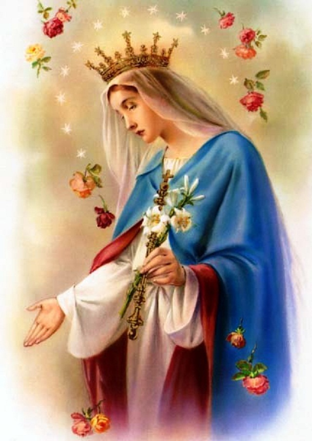 Blessed Virgin Mary May