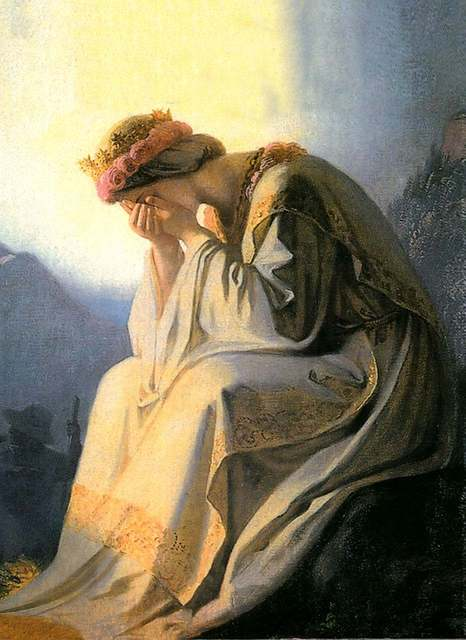 The Weeping Virgin of La Salette